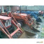 Японские мини тракторы бу